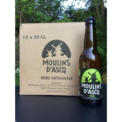 12x33cl Bière IPA Moulins...