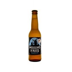 Bière Moulins d'Ascq BIO Blanche 5° Alc Vol 33cl