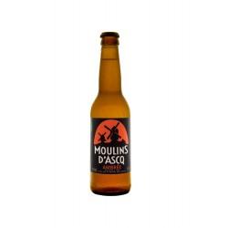 Bière Moulins d'Ascq BIO Ambrée 6.6° Alc Vol 33cl