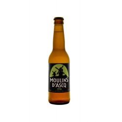 Bière Moulins d'Ascq BIO IPA 5.5° Alc Vol 33cl